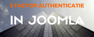 2 Factor Authenticatie In Joomla