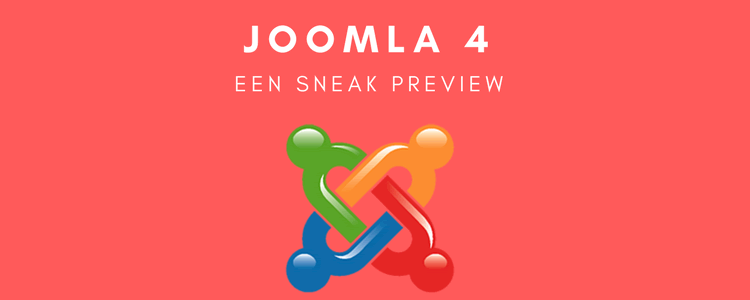 Joomla 4 Een Sneak Preview