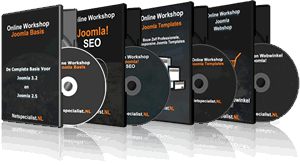 Joomla video cursussen